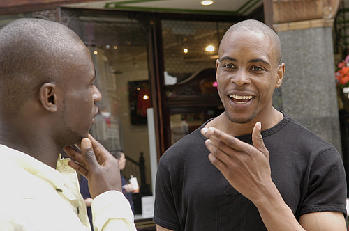 men-talking